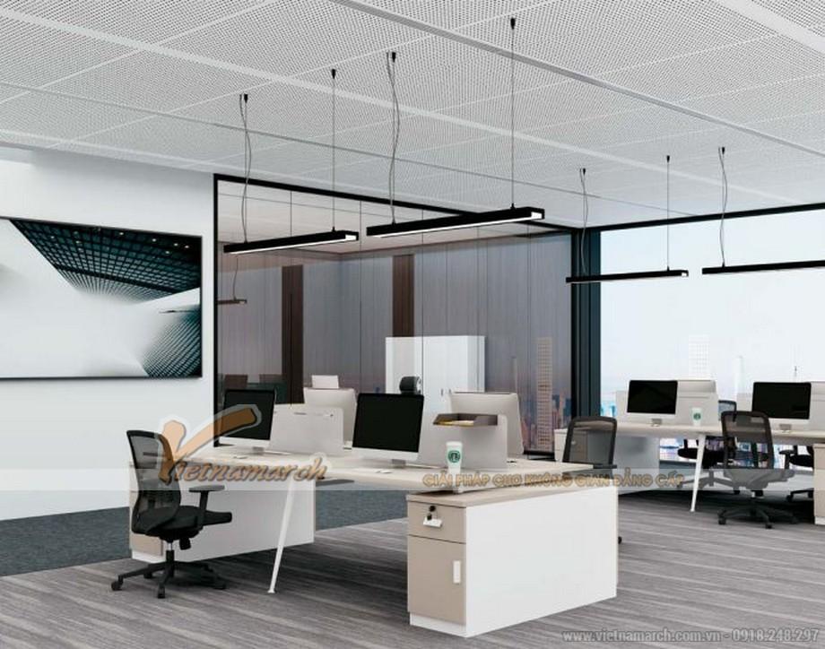 Mẫu bàn làm việc thông minh biến hóa đa dạng D40 cho văn phòng chuyên nghiệp kết hợp tủ chứa đồ phía ngoài
