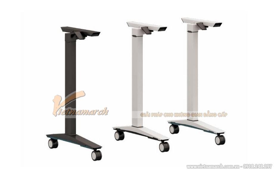 Mẫu bàn văn phòng phong cách hiện đại, linh hoạt G10 được làm từ chất liệu kim loại sơn tĩnh điện chắc chắn