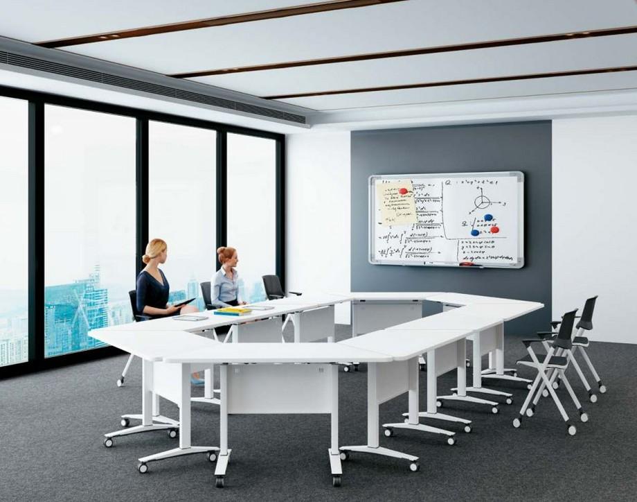 Mẫu bàn phòng họp văn phòng phong cách hiện đại, linh hoạt G10