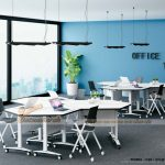 Mẫu bàn văn phòng phong cách hiện đại, linh hoạt G10
