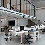 Mẫu thiết kế bàn làm việc D558 hiện đại, trẻ trung cho không gian văn phòng