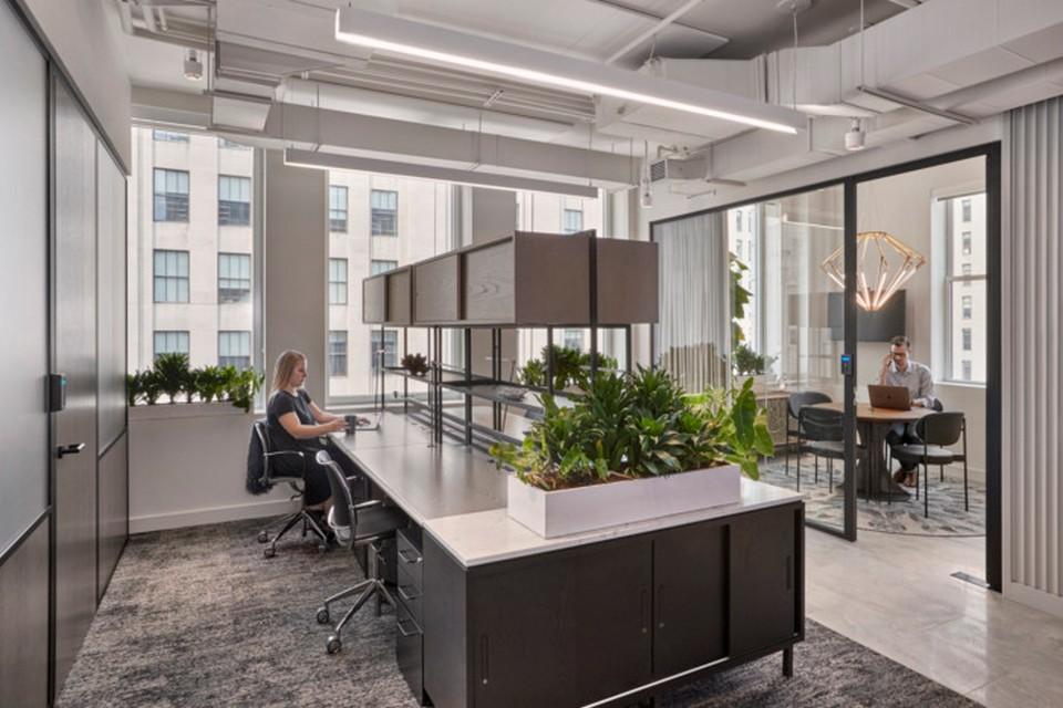 thiết kế nội thất các phòng làm việc là bộ mặt của công ty.