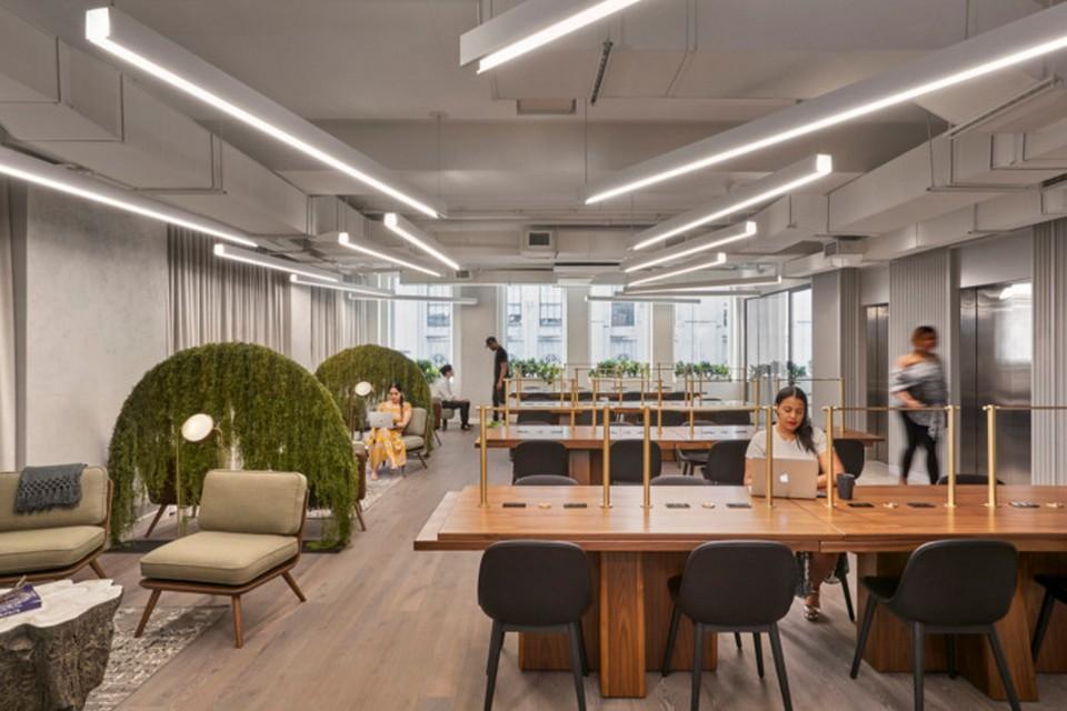 thiết kế văn phòng theo phong cách phá cách ấn tượng