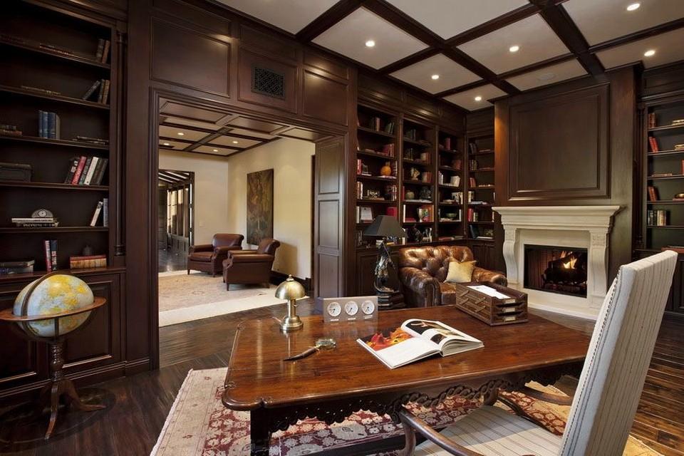 nội thất văn phòng theo phong cách cổ điển