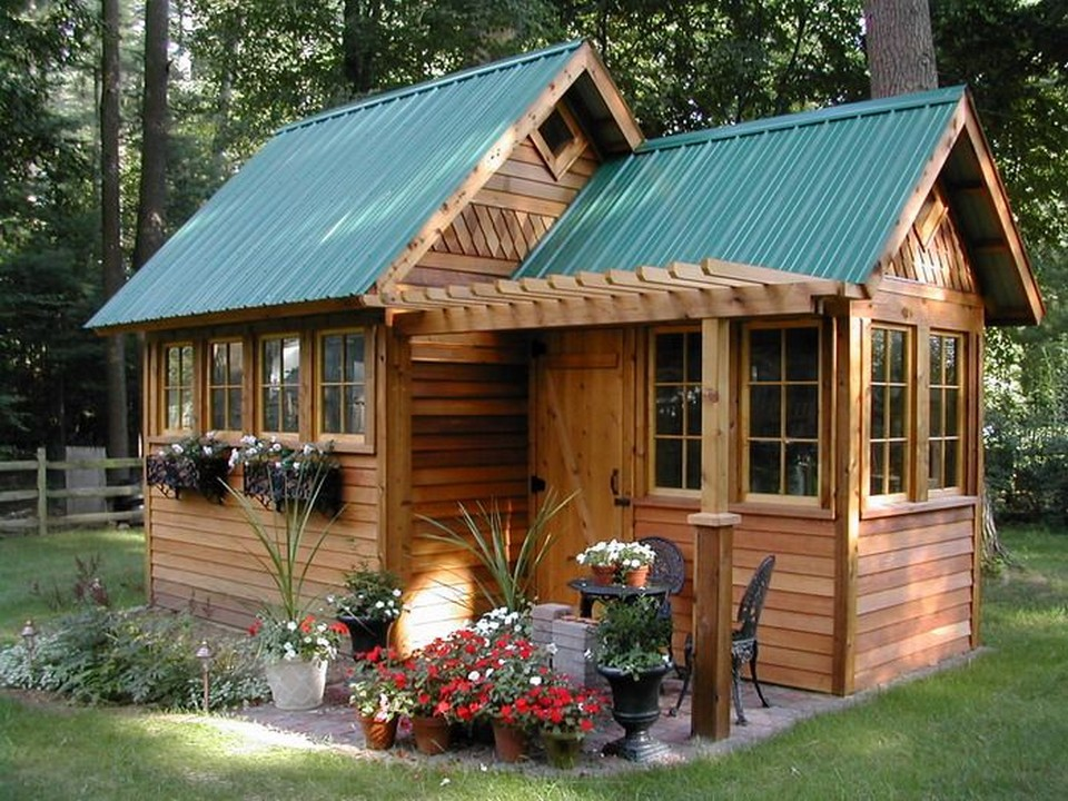 một căn nhà gỗ để nghỉ ngơi mỗi khi rảnh rỗi tránh xathành phố ồn ào