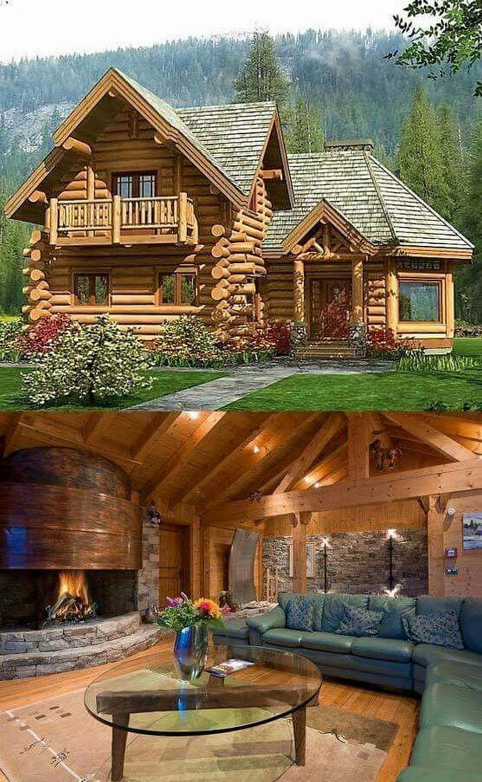 Căn nhà gỗ thiết kế giản đơn huyền ảo như trong những câu truyện cổ tích