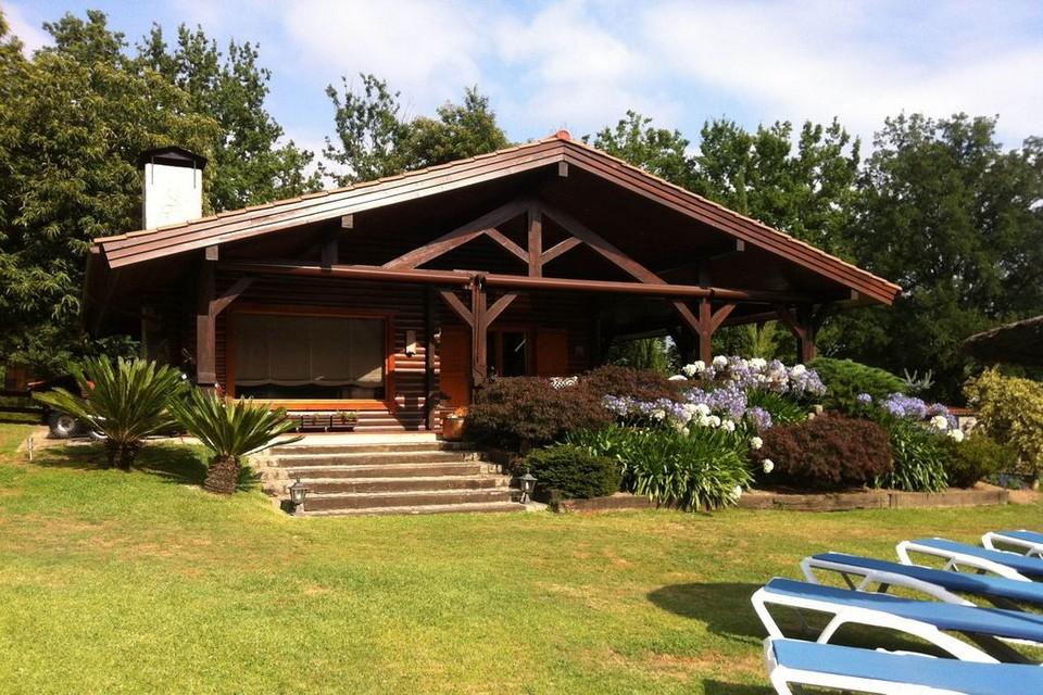 Căn nhà gỗ vớidiện tích lớn, hơn 250 mét vuông