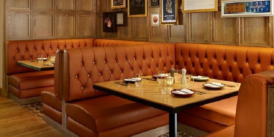 Sofa nhà hàng nhập khẩu có thể lựa chọn kiểu dáng khác nhau tùy theo phong cách thiết kế nhà hàng