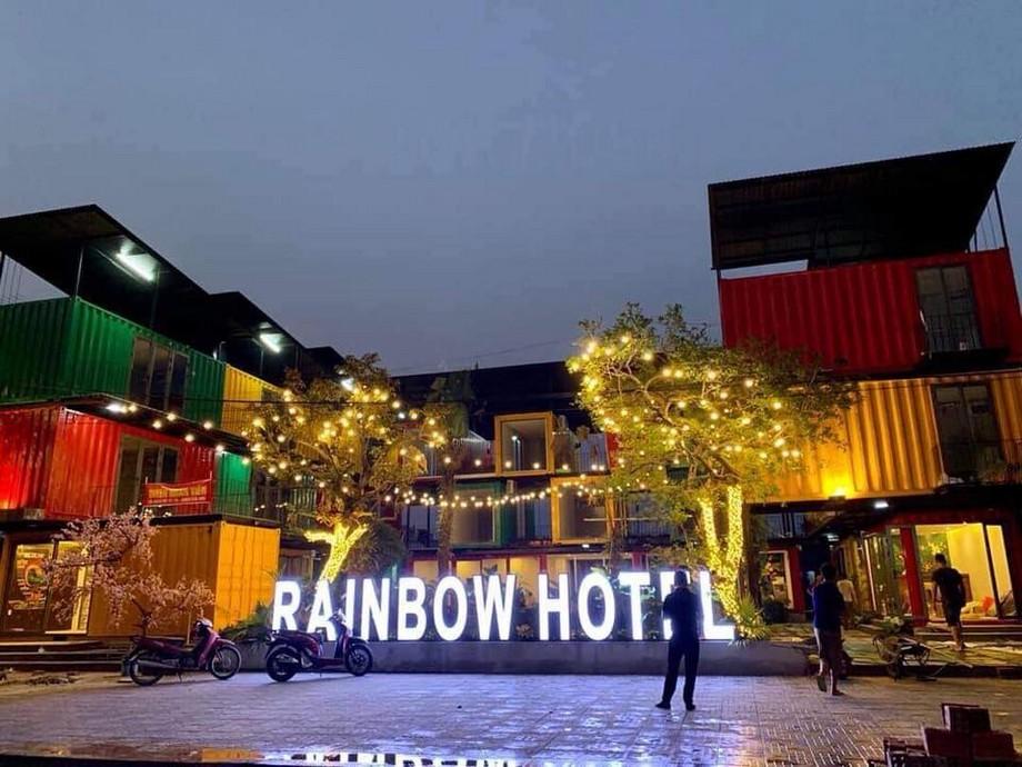 Khách sạn container Cửa Lò-Thiên đường sắc màu trên nhân gian