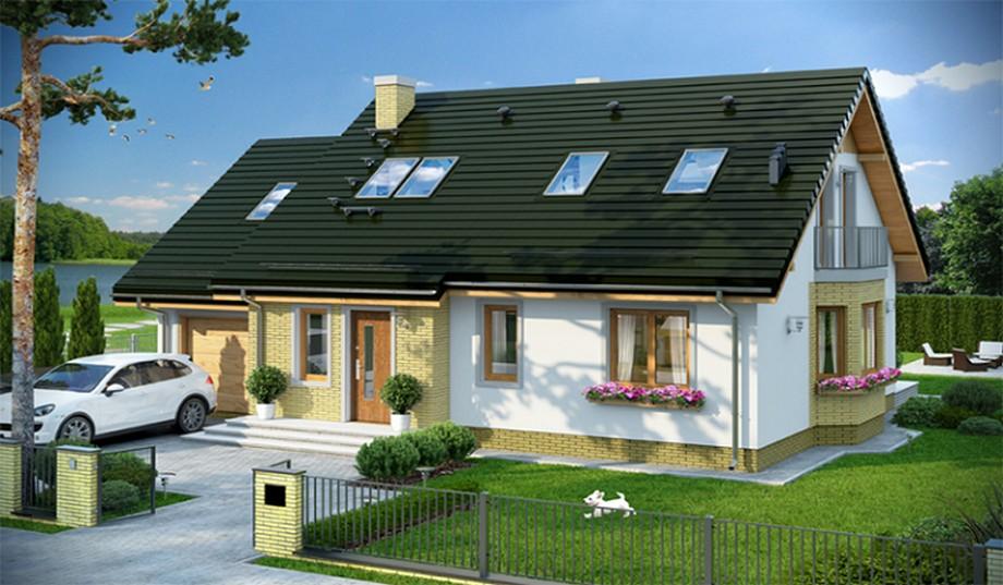 Thiết kế nhà cấp 4 có phòng thờ 120m2 2 phòng ngủ có sân vườn cho cuộc sống lý tưởng