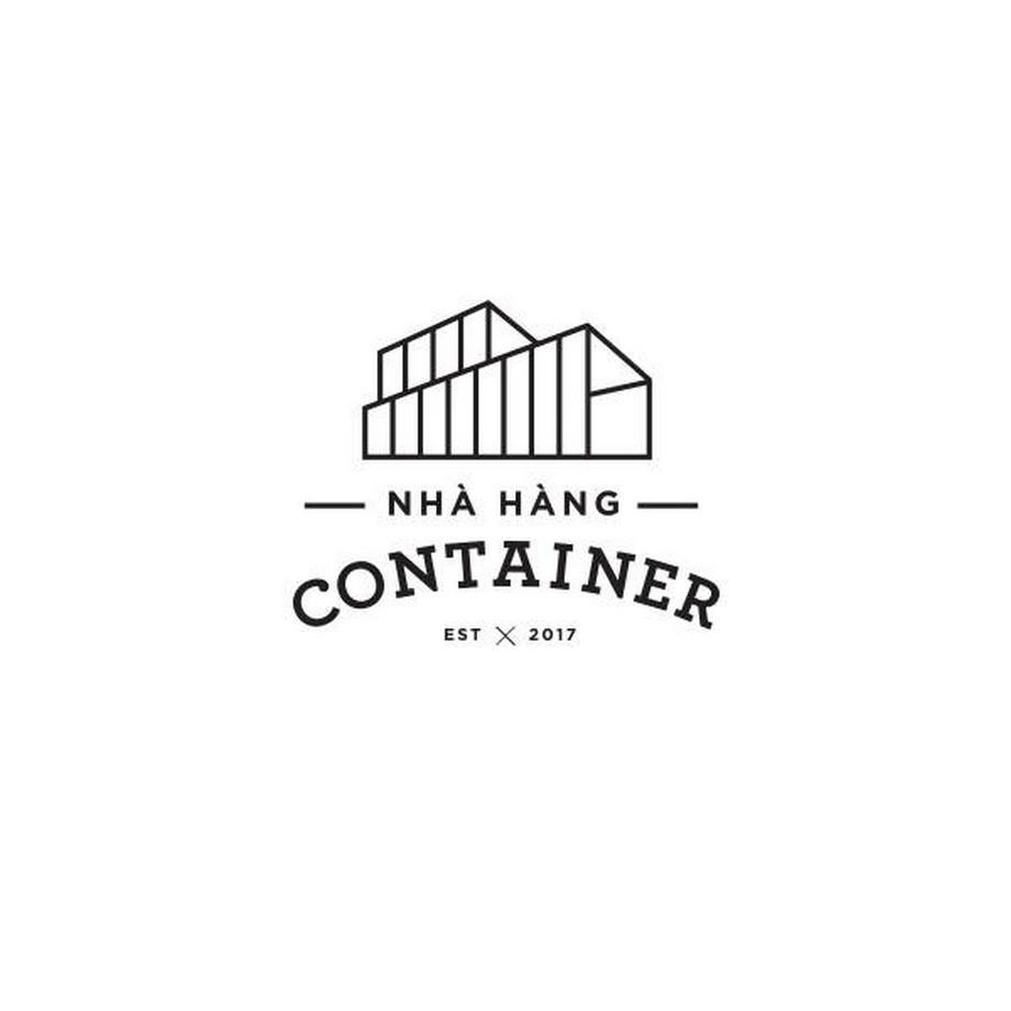 Logo nhà hàng container ở Lương Yên