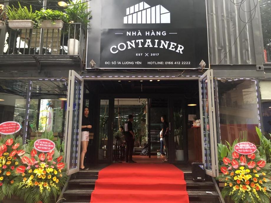 Mặt tiền Nhà hàng containerLương Yên