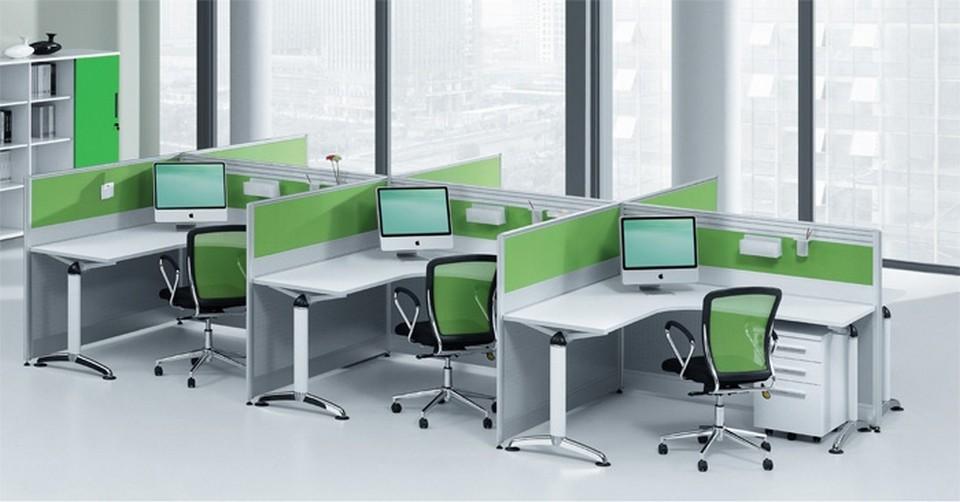chọn tông màu sáng cho trang trí và nội thất văn phòng sẽ tạo cảm giác phòng rộng rãi, thoáng đãng