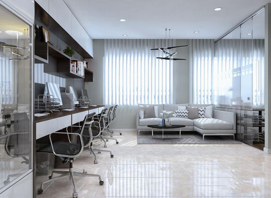 Phong cách thiết kế văn phòng kết hợp nhà ở