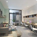 Xu hướng thiết kế nội thất nhà ở kết hợp văn phòng hiện nay