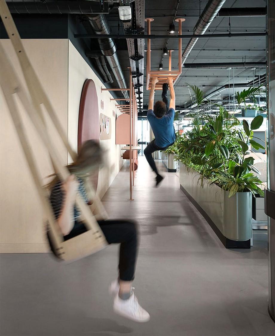 Ý nghĩa của việc Thiết kế góc tập thể dục trong văn phòng