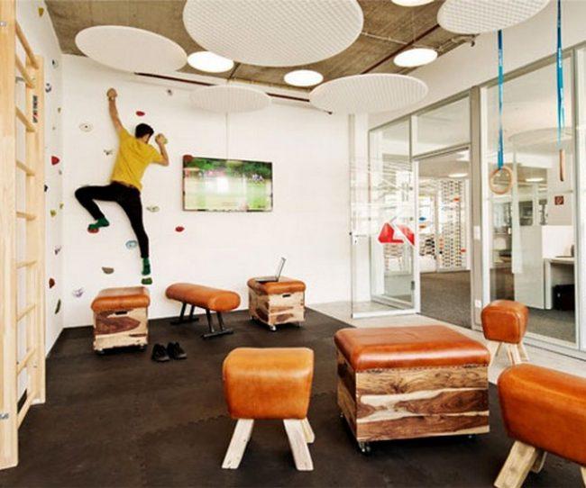 Ý tưởng tập thể dục tại văn phòng với thiết kế nội thất sáng tạo không ngờ