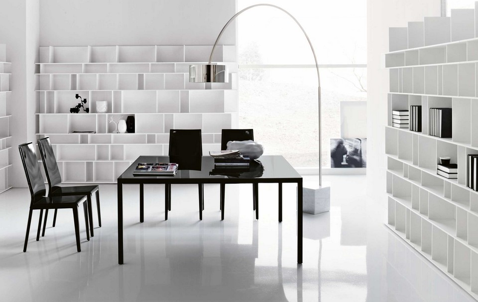 Phong cách này rất phù hợp cho những văn phòng chỉ có diện tích khiêm tốn