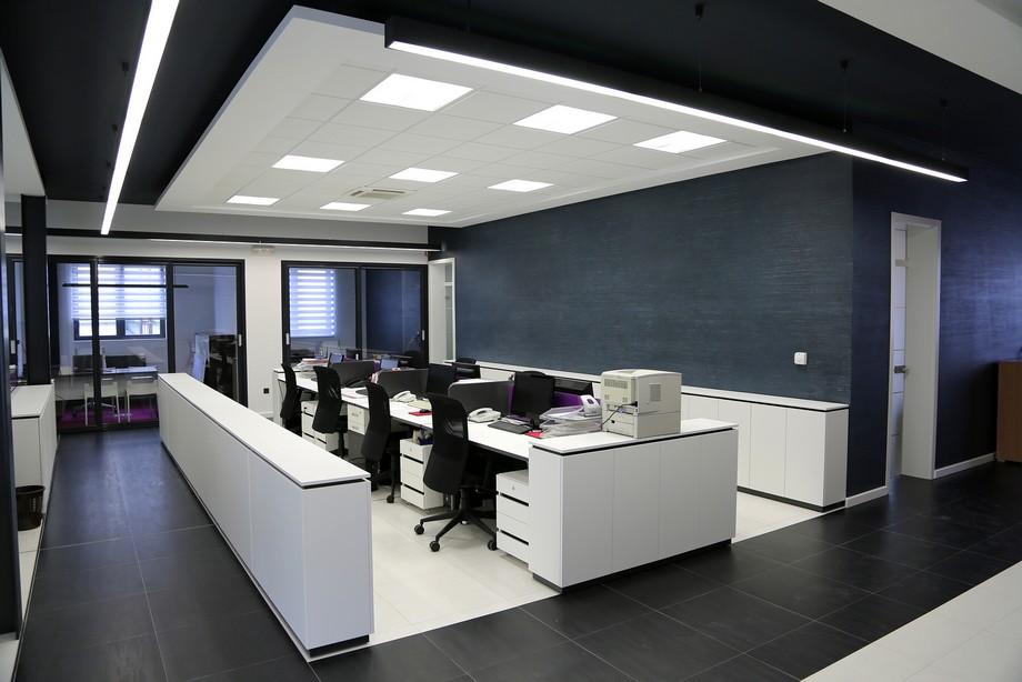 Thiết kế nội thất văn phòng tại Hà Nội hiện đại