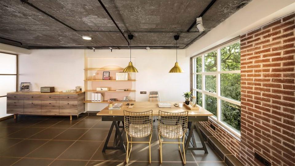 Mẫu thiết kế văn phòng cho thuê hiện đại, tiện nghi tích hợp nhiều công năng