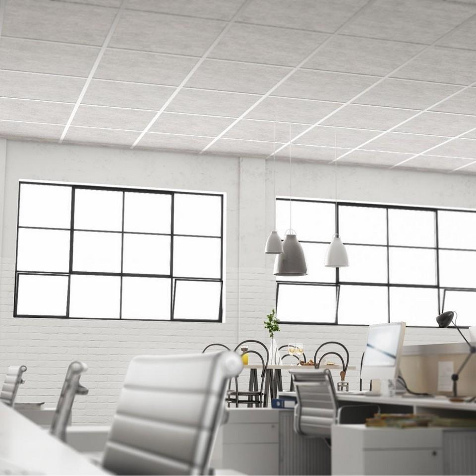 trần thạch cao treo là chiều cao trần thấp hơn giúpdễ quản lý ánh sáng hơn