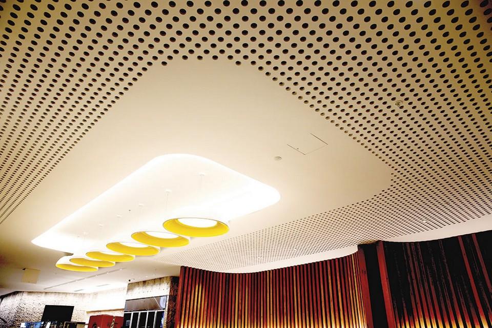 trần thạch cao cho văn phòng phá cách đẹp mắt khác lạ