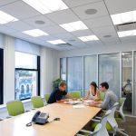 Trần thạch cao cho văn phòng – 35 mẫu hot nhất năm 2019