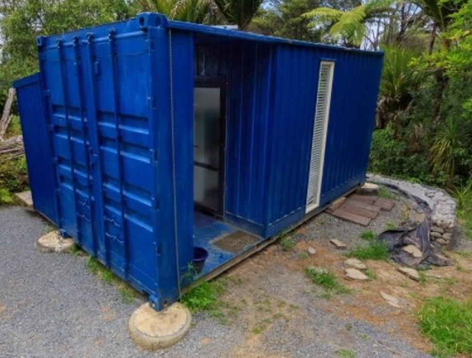 Ngôi nhà container nhỏ nhắn