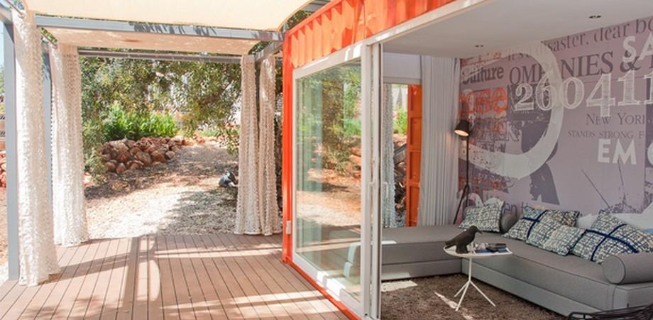 Căn nhà container cho khách du lịch