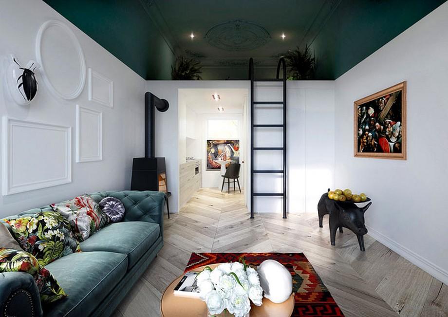 Thiết kế căn hộ hơi hướng cổ điển