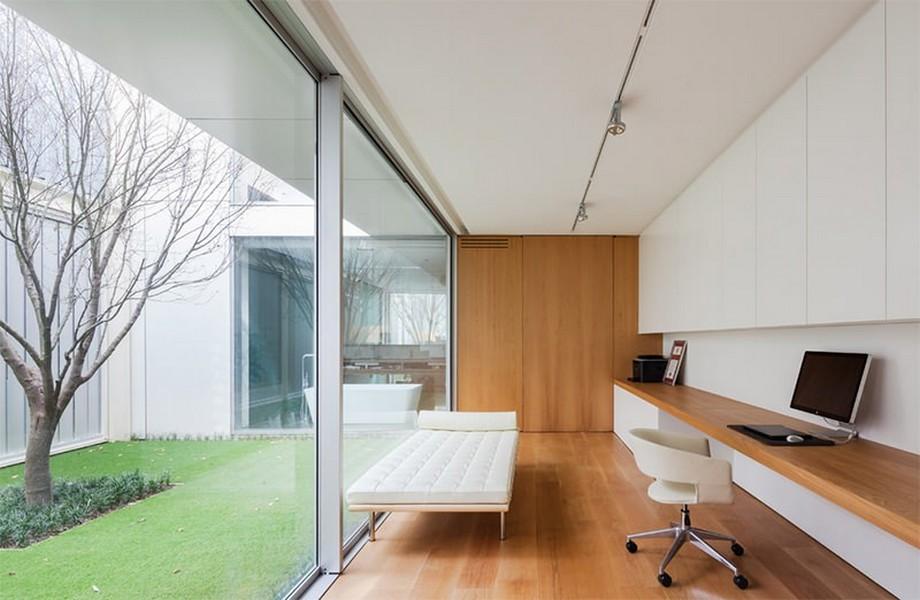 Thiết kế tối giản, trẻ trung cho nội thất phòng làm việc nhỏ
