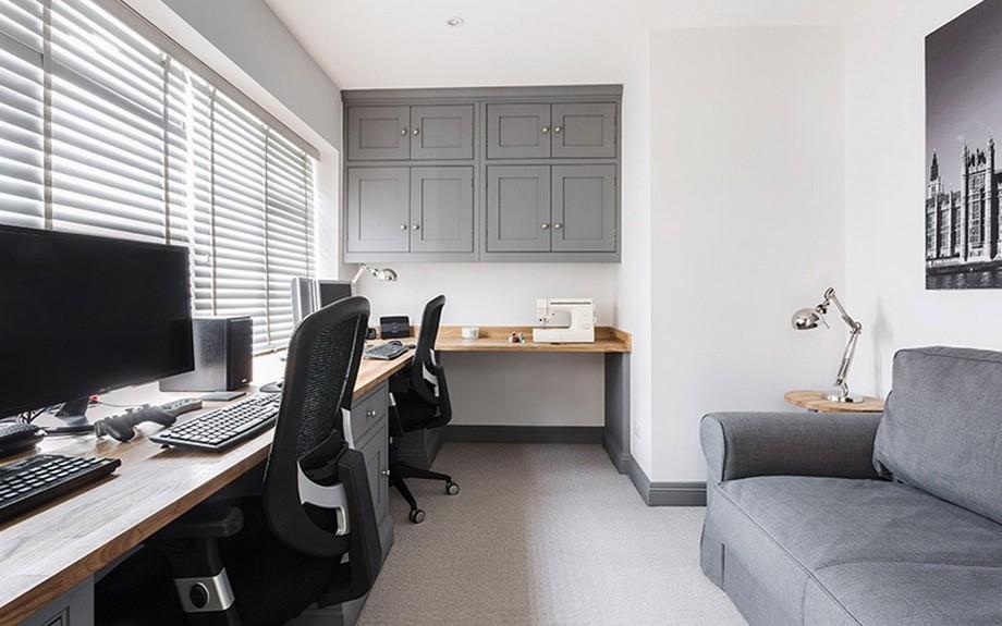 Thiết kế nội thất phòng làm việc nhỏ