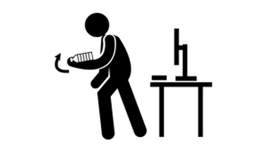 Đốt cháy nhanh 500kcal ngay tại bàn làm việc chỉ bằng động tác dễ không tưởng