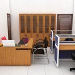 Công trình văn phòng 20m2, thiết kế phòng giám đốc 20m2 đẹp, hợp lý