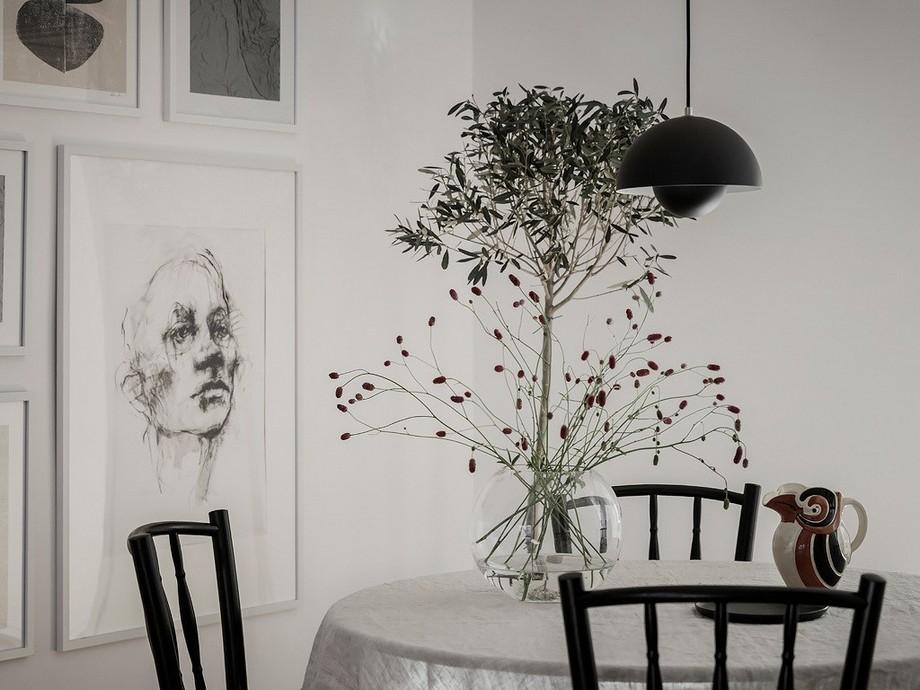 Thiết kế nội thất chung cư tối giản tông màu nâu