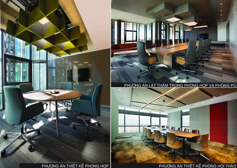 Quy mô phòng họp, phòng hội thảo trung da dạng tại CenXspace
