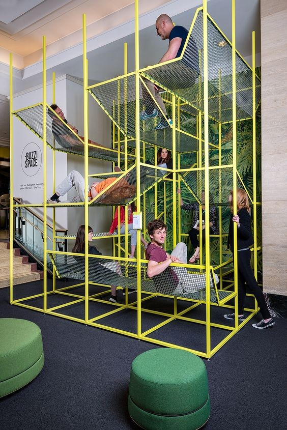 Relax Space - Jungle Gym Meeting Spaces
