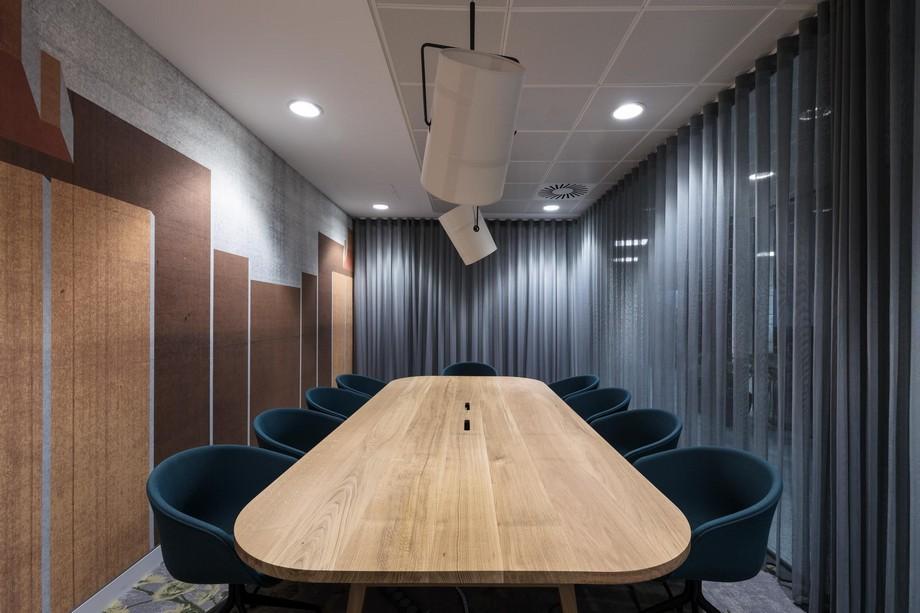 Ý tưởng thiết kế phòng hợp nhỏ trong văn phòng