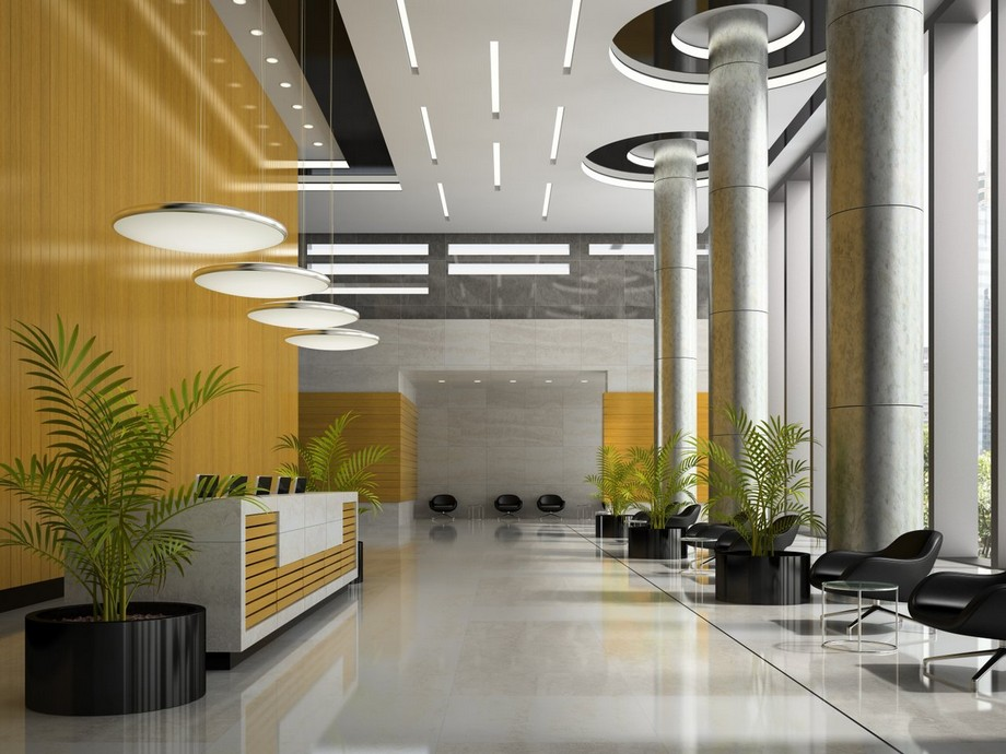 Thiết kế văn phòng với các gam màu đối lập môt cách linh hoạt thông minh