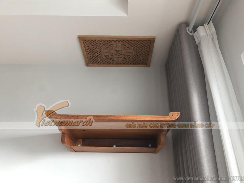 Thông tin mẫu bàn thờ đặt đóng cho chung cư Hoàng Mai