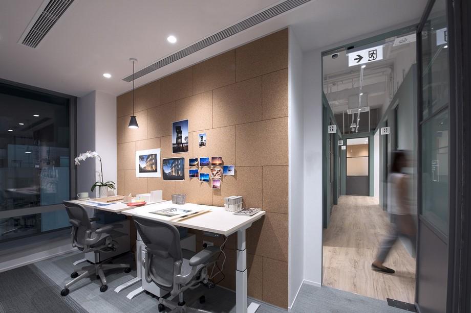 Khám phá mẫu thiết kế coworking space không gian xanh ở Hong Kong