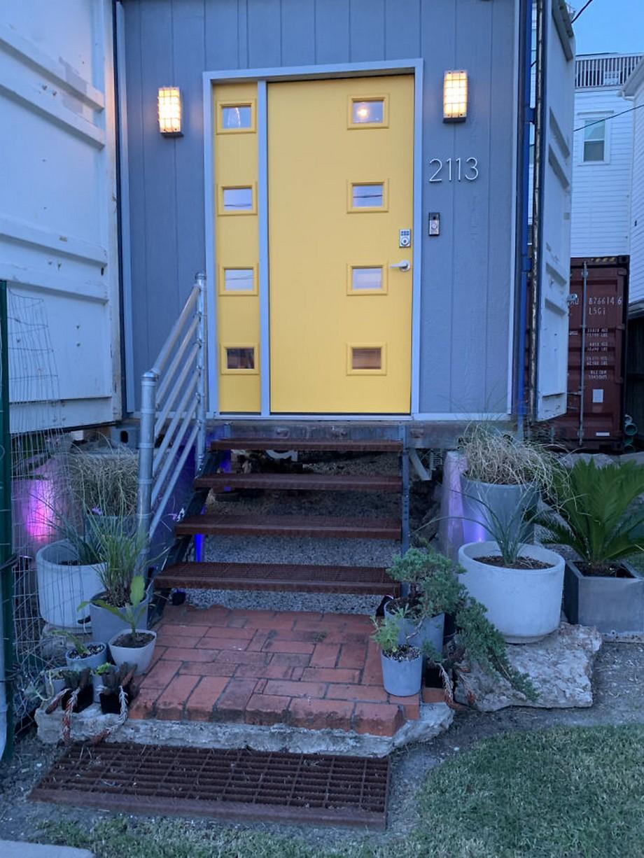 Mẫu nhà container được xây dựng từ 11 thùng container