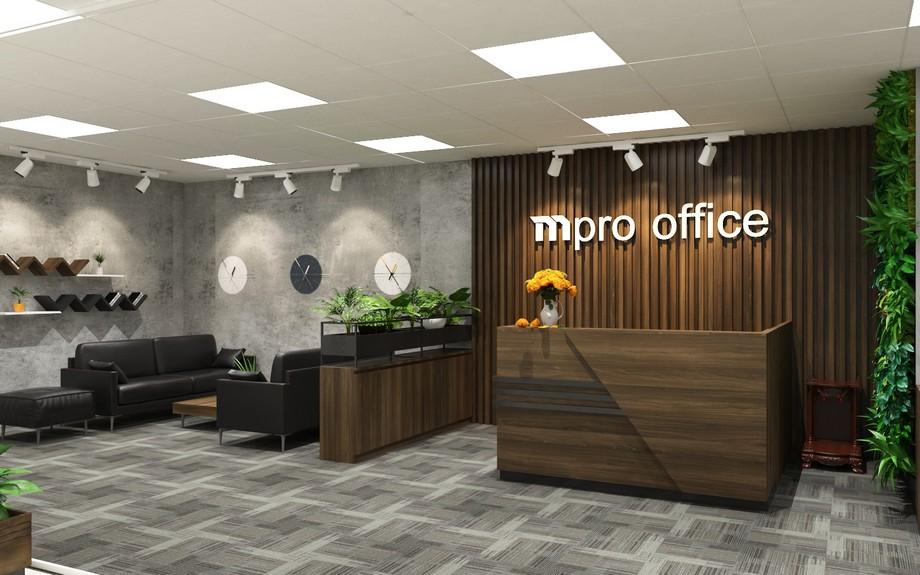 Mẫu thiết kế văn phòng đại diện
