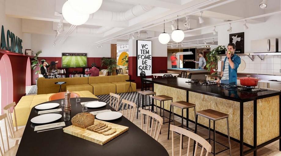 mọi người có thể cùng nhau vui chơi, ăn uống tại không gian chung nhưng nhất định vẫn phải có không gian nghỉ ngơi riêng biệt của mỗi cá nhân.
