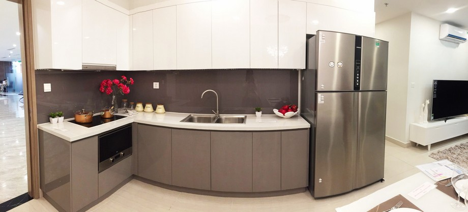 Nội thất căn hộ mẫu chung cư Vinhomes Smart City