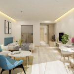 Phương án thiết kế nội thất căn studio Vinhomes Smart City