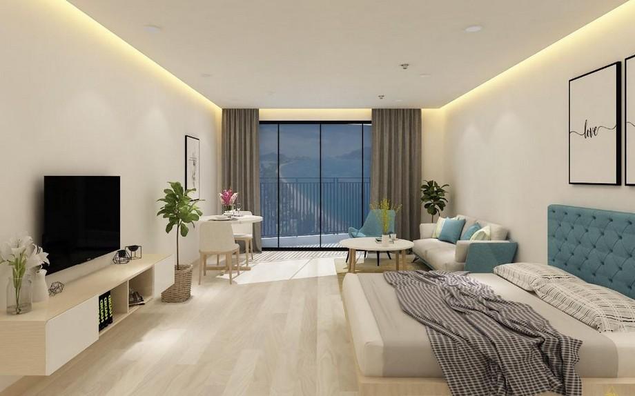 Thiết kế nội thất căn studio Vinhomes Smart City