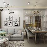 Phương án thiết kế nội thất chung cư 2 phòng ngủ Vinhomes Smart City