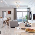 Phương án thiết kế nội thất chung cư 3 phòng ngủ Vinhomes Smart City