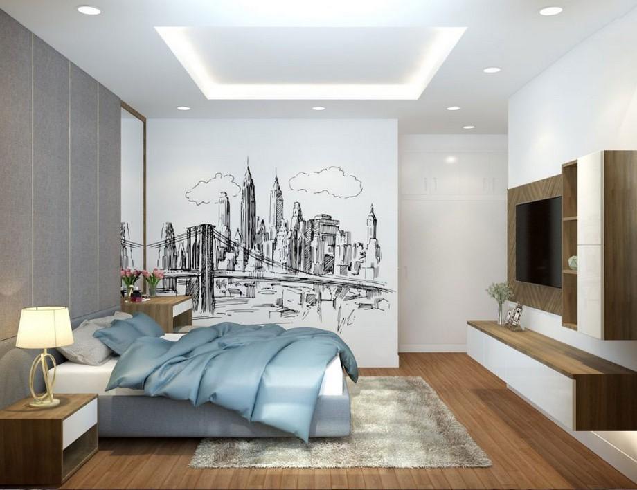 Thiết kế nội thất chung cư 3 phòng ngủ Vinhomes Smart City